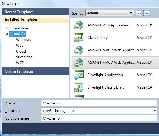 ASP.NET MVC Web Application